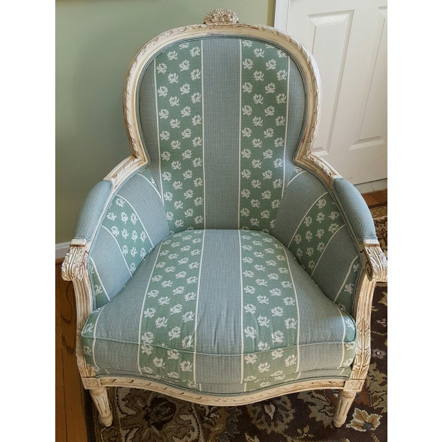 Louis XV Style Bergere Chairs - Pair - Image 5 of 5