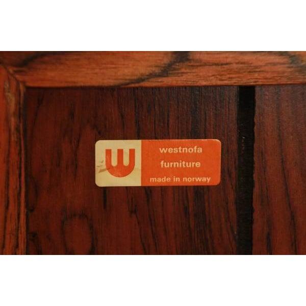 Vintage Westnofa Rosewood Bachelor Chest - Image 7 of 7