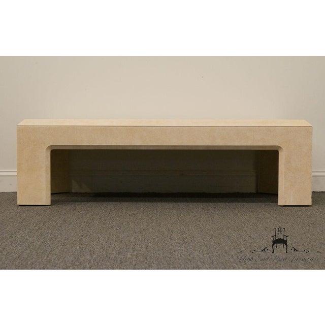 "Altavista Lane Lane Furniture Contemporary Style 54"" Coffee Table For Sale - Image 4 of 13"