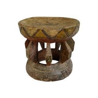 Vintage Nigerian Yoruba Stool For Sale