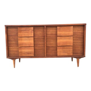 Mid-Century Modern Johnson Carper 9 Drawer Dresser