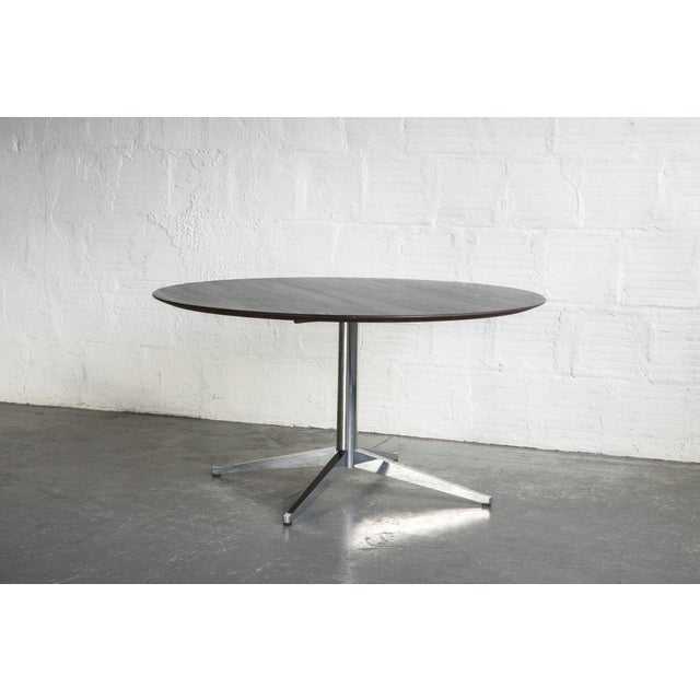 Knoll Black Knoll Dining Table For Sale - Image 4 of 6