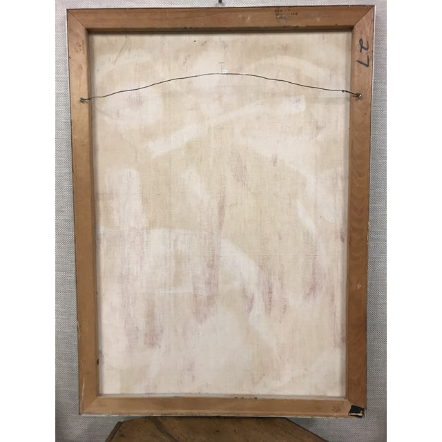 Abstract Oil on Canvas Painting For Sale In Nashville - Image 6 of 7