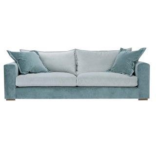 Modern Kim Salmela Skylar Velvet Sofa For Sale