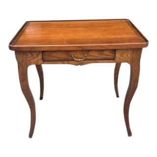 French Rustic Ash Writing Table For Sale