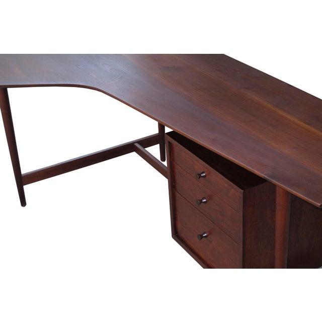 Richard Artschwager Studio Walnut Desk For Sale In San Francisco - Image 6 of 7