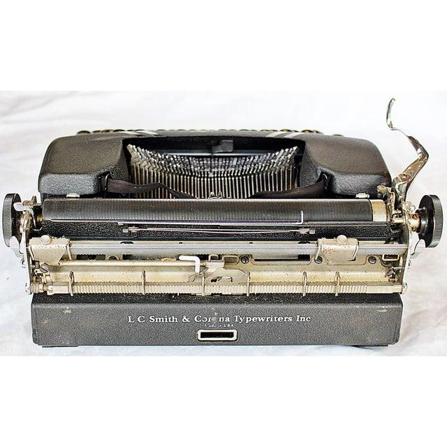 Smith-Corona Sterling Typewriter - Image 8 of 10