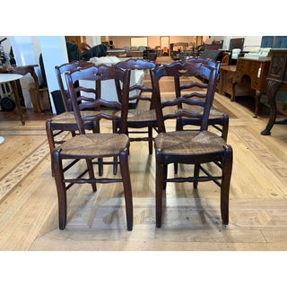 19th Century French Country Side Chairs - Set of Five Preview