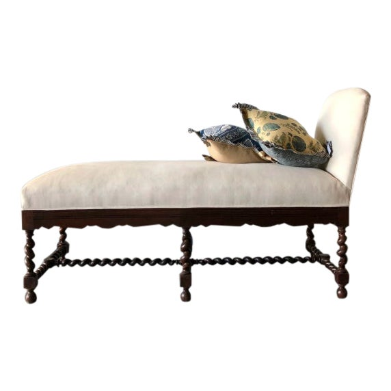 Elizabethan-Style Chaise For Sale