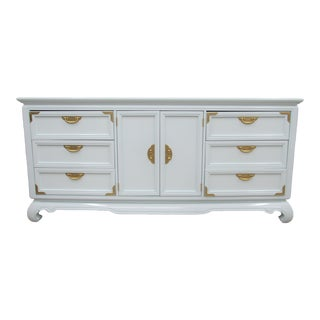 1960s Broyhill Asian Inspired Chest of Drawers For Sale