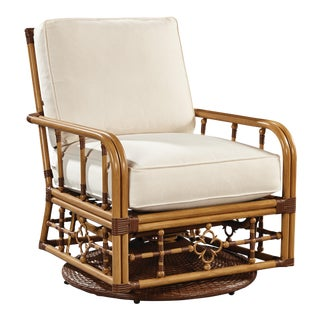 Celerie Kemble - Mimi Outdoor Swivel Glider Lounge Chair For Sale