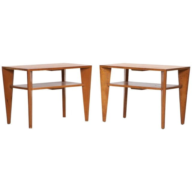 Russel Wright for Conant Ball Side Tables - Pair - Image 2 of 5