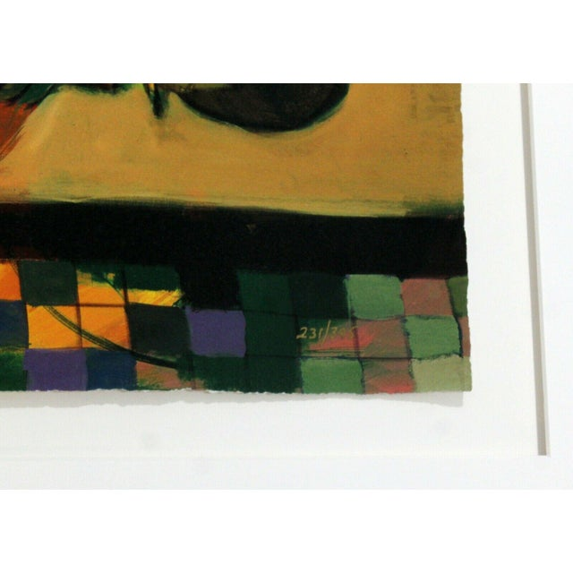 Contemporary Framed Serigraph Signed by Hessam Abrishami Spring Affair 231/395 For Sale In Detroit - Image 6 of 7