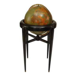 American Art Deco (Pre-Wwii) Globe of the World For Sale