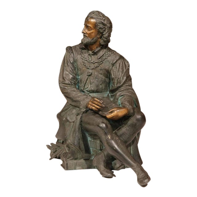 19th Century French Spelter Metal Statue With Polychrome Finish - Image 1 of 9