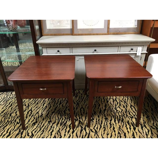 Kincaid Park Cherry End Tables - A Pair - Image 3 of 10