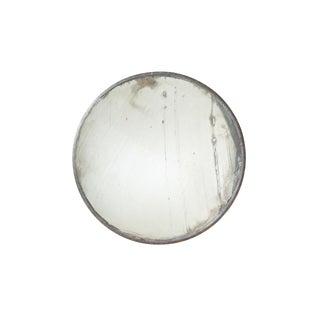 Vintage Iron Convex Mirror For Sale