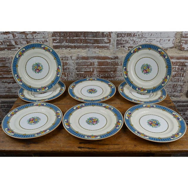 Vintage Minton Luncheon Plates - Set of 8 - Image 2 of 11