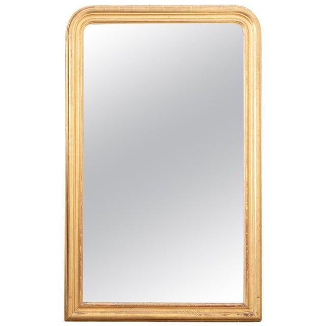 French 19th Century Giltwood Louis Philippe Mirror For Sale - Image 9 of 9