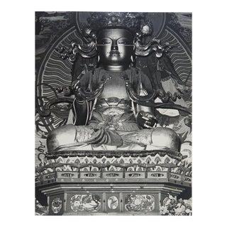 Circa 1970s Statue of Buddha Photograph For Sale