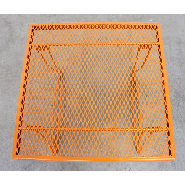 Homecrest Mid-Century Modern Homecrest Bottemiller Metal End Table 1521 For Sale - Image 4 of 8