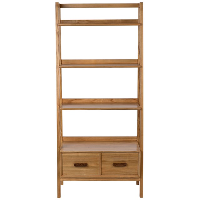 2010s Johnson Bookcase, Natural For Sale - Image 5 of 8
