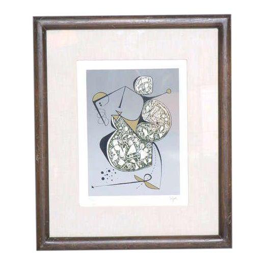 Manuel Felguerez Lithograph For Sale