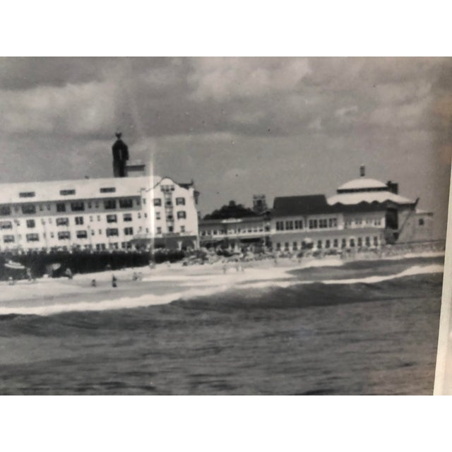 Photography Vintage Black and White Photograph of Ocean Grove, New Jersey For Sale - Image 7 of 13