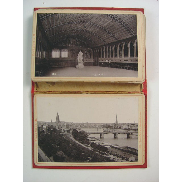 1896 Frankfurt, Germany Photo Book - Image 3 of 4