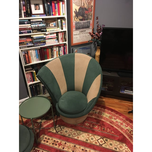 Vladimir Kagan for Weiman Vintage 20th Century Swivel Chairs - a Pair For Sale - Image 9 of 12