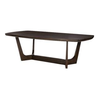 "Century Furniture Giles 96"" Dining Table, Java"