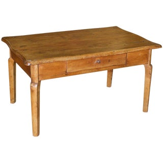 Coffee Table or End Table Made From an Antique Desk For Sale