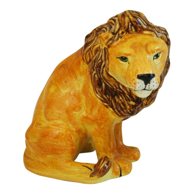 Mid-Century Italian Lion by Bellini - Image 1 of 9