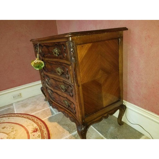 French French Style Commode or Chest of Drawers, 20th Century For Sale - Image 3 of 8