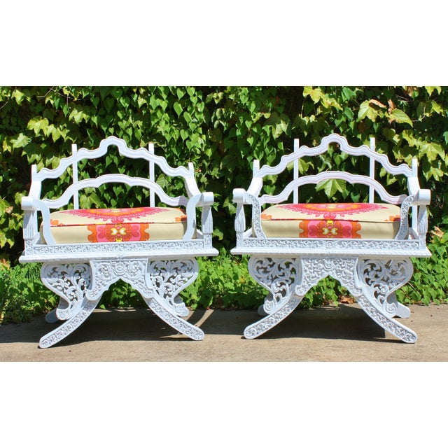Trina Turk Howdah Elephant Chairs - Pair - Image 2 of 4