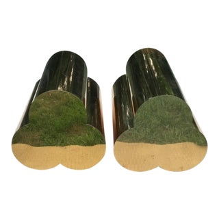 Clover Shaped Brass Table Bases For Sale