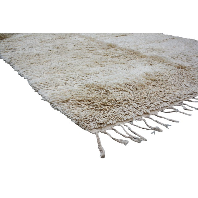 Moroccan Beni Ourain Rug - 10' X 6'9'' - Image 3 of 4