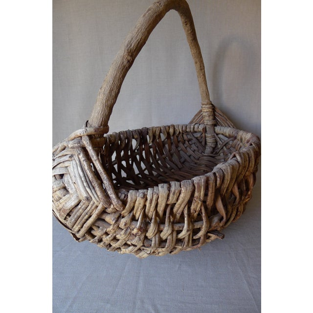 Large Appalachian Handwoven Basket - Image 7 of 7