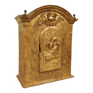 17th Century Giltwood Tabernacle From Italy For Sale