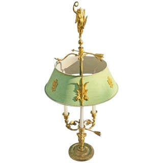 19th Century Russian Empire Ormolu Bouillotte Lamp For Sale