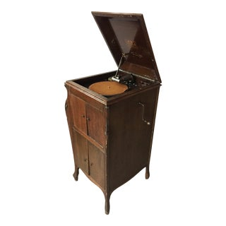 Antique Victrola Phonograph Player For Sale