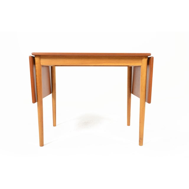 Borge Mogensen Teak & Oak Drop Leaf Coffee Table - Image 4 of 9