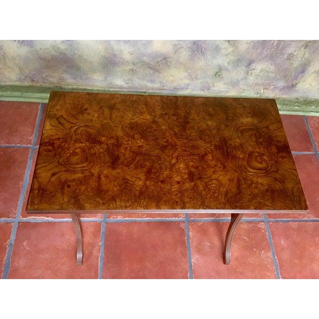 Brown Baker Furniture Nesting Tables - Set of 2 For Sale - Image 8 of 13