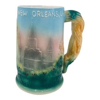 Vintage New Orleans Souvenir Stein For Sale