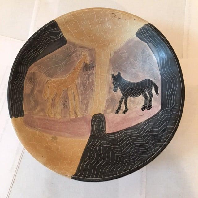 Handmade African Ceramic Bowl - Image 2 of 6