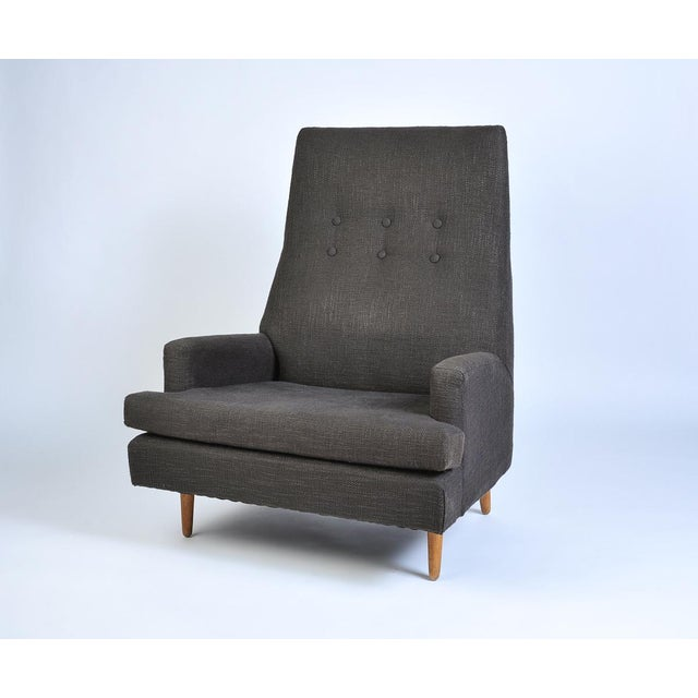 Vintage Adrian Pearsall High Back Lounge Chair For Sale - Image 10 of 10