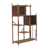 Image of Circa 1880 Victorian Bamboo Shelf For Sale