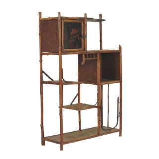 Circa 1880 Victorian Bamboo Shelf