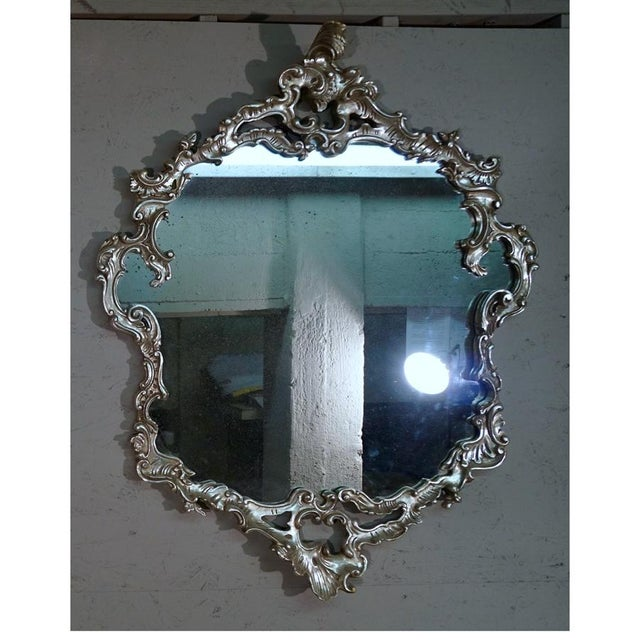 Hand Carved Gilt Mirror - Image 2 of 6