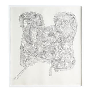 """Untitled #1"" Drawing by Polly Yates For Sale"